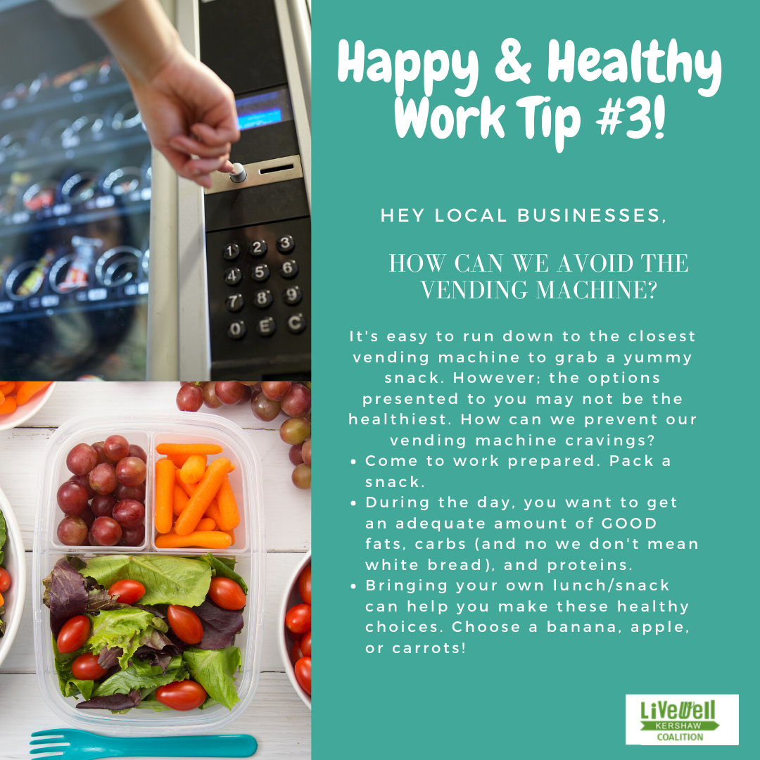 Happy Healthy Work Tip 3