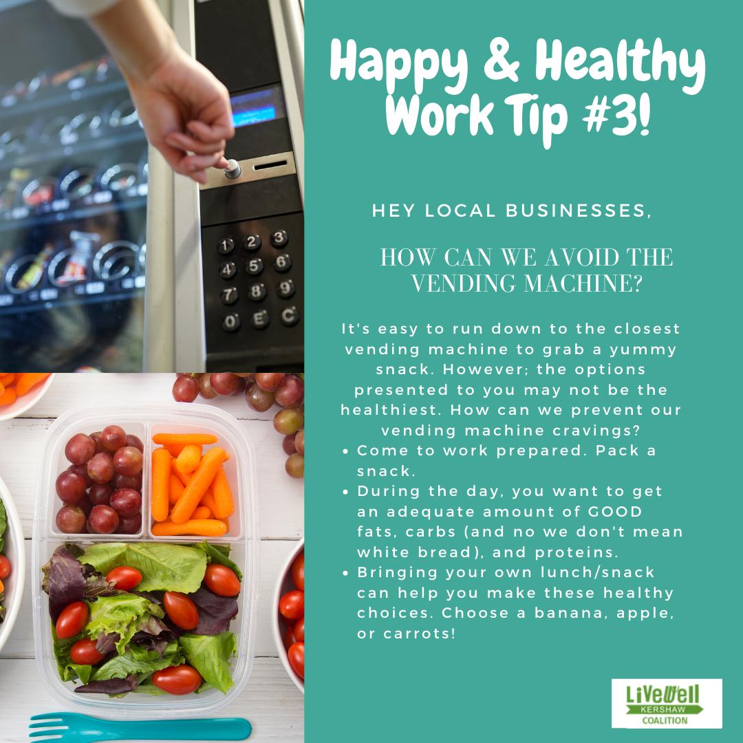 Happy Healthy Work Tip 3