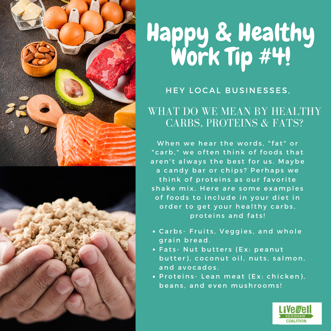 Happy & Healthy Work Tip 4