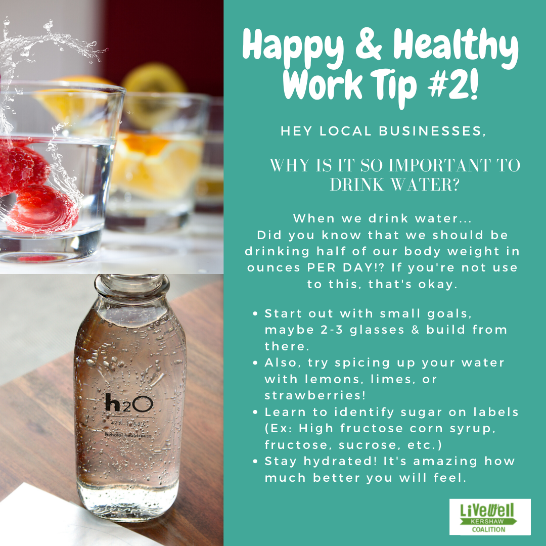 Happy Healthy Work Tip 2