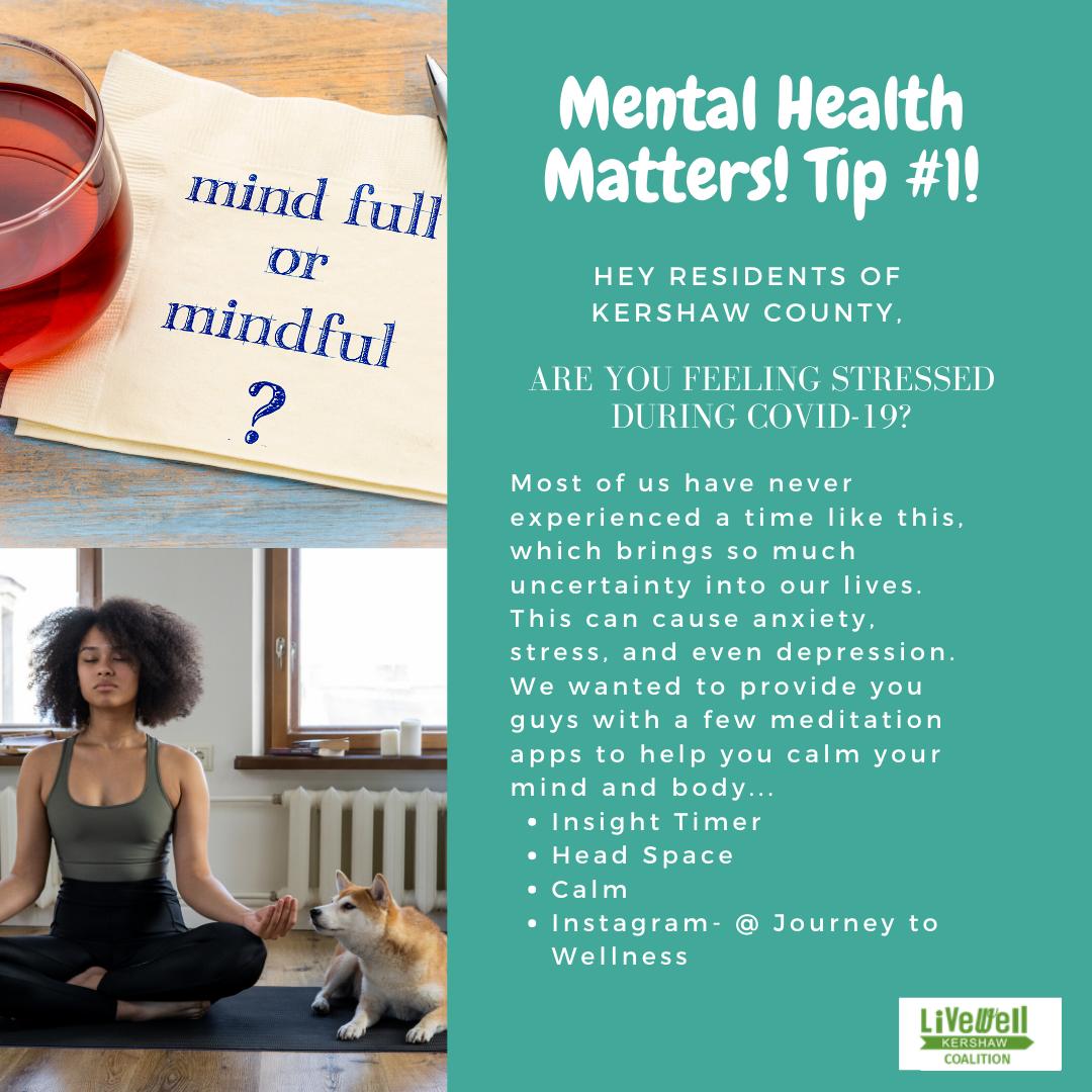 Mental Health Tip 1