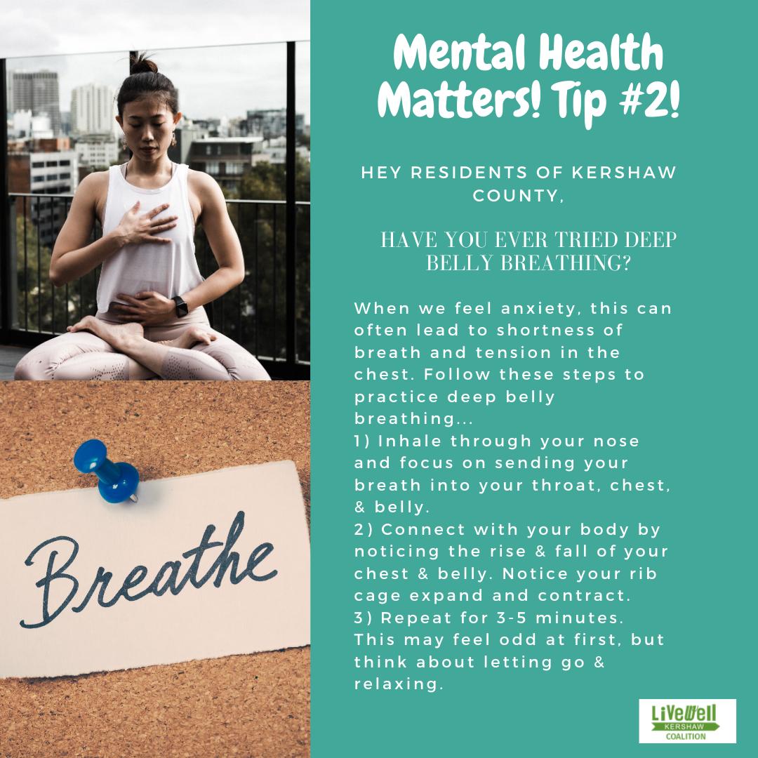 Mental Health Tip 2