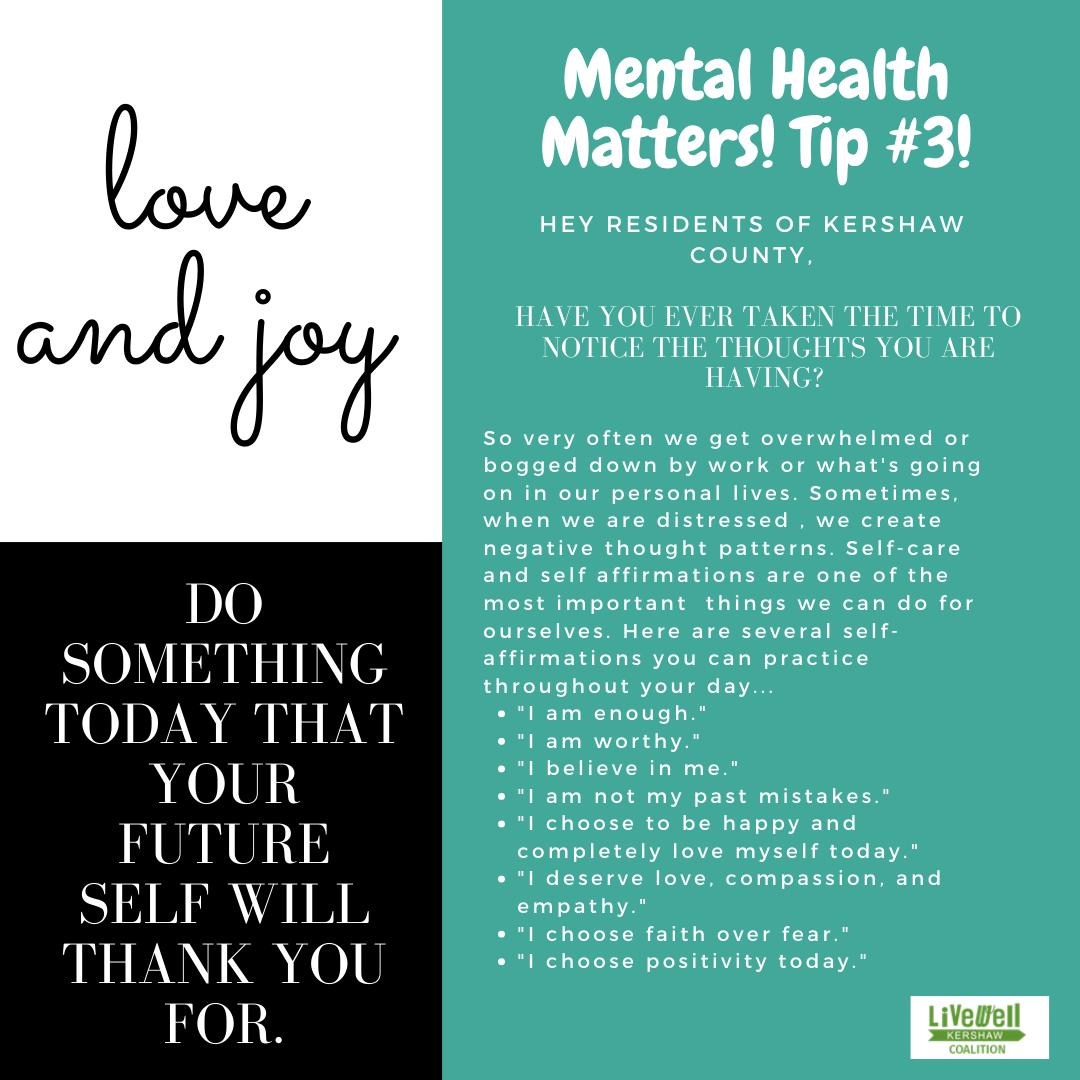 Mental Health Tip 3