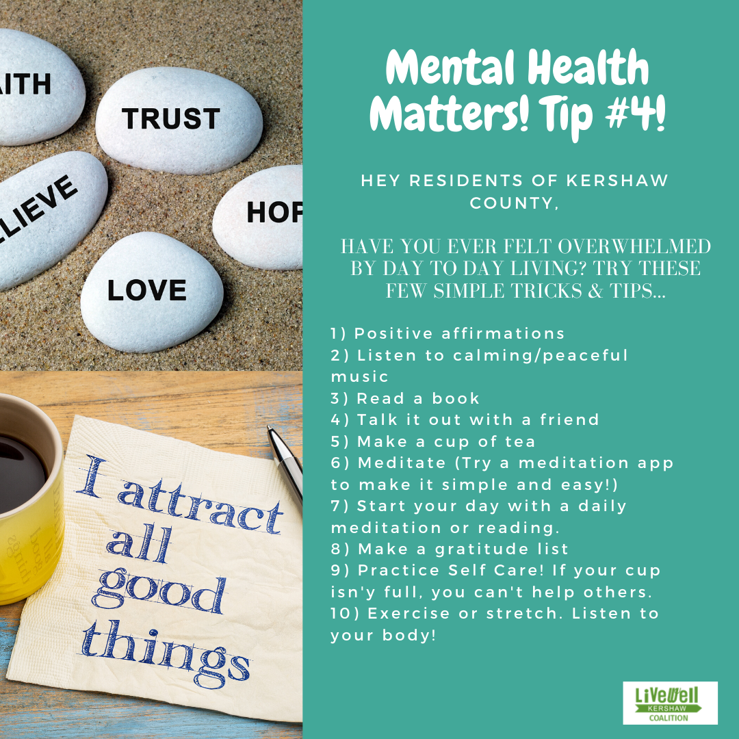 Mental Health Tip 4