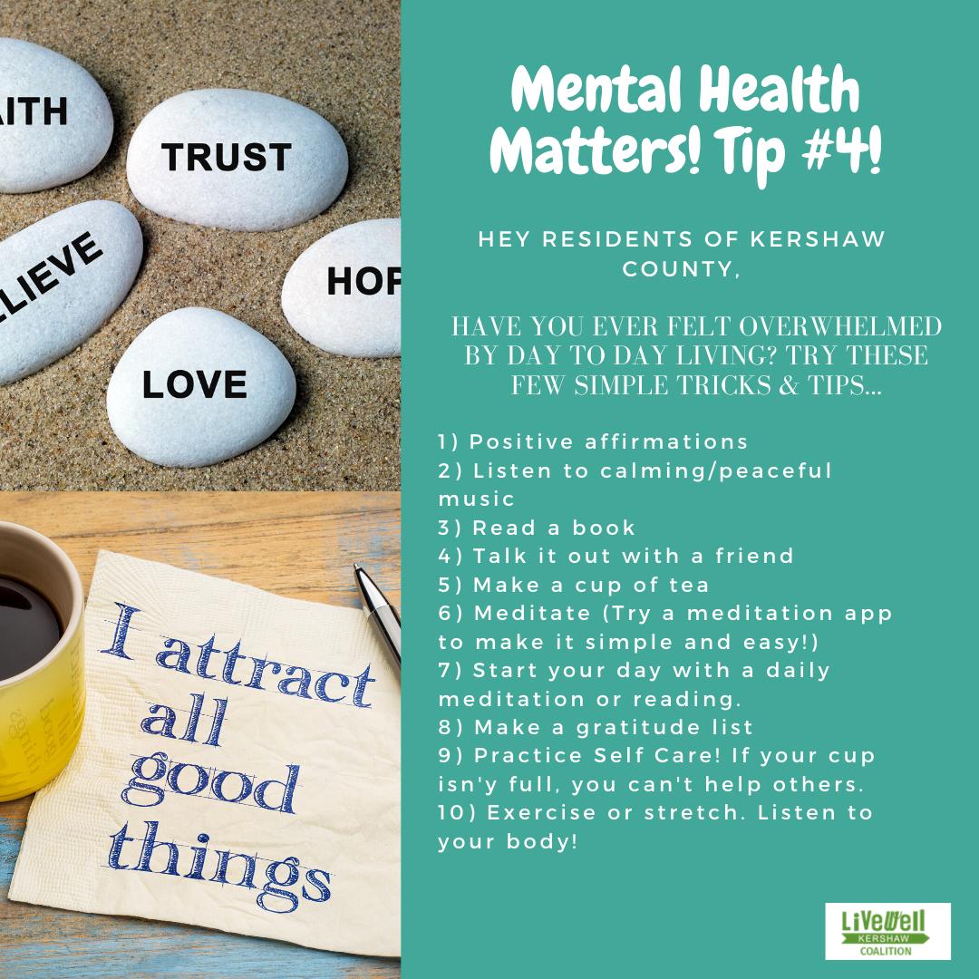 Mental Health Tip 4