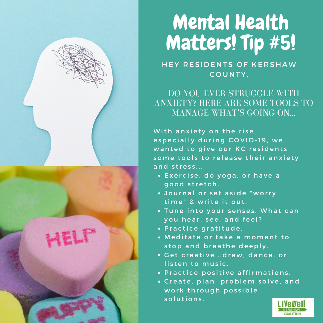 Mental Health Tip 5