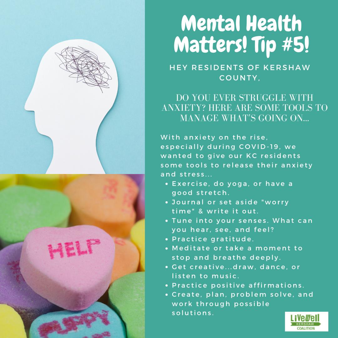 Mental Health Tip 5