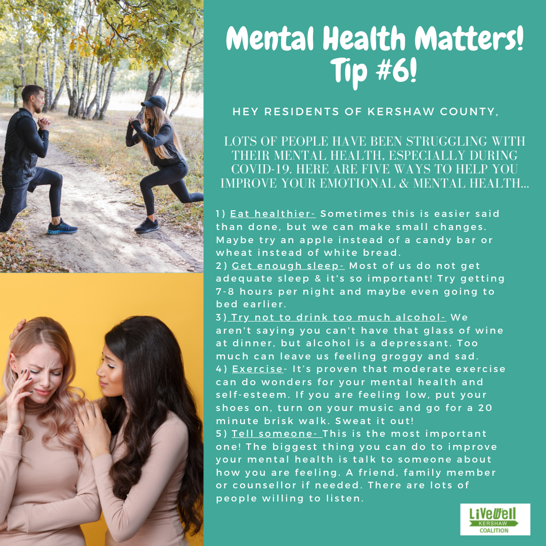Mental Health Tip 6