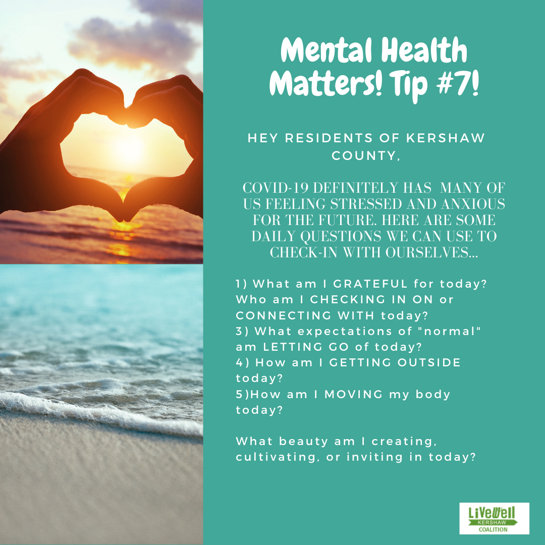 Mental Health Tip 7