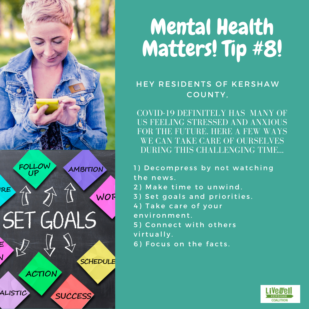 Mental Health Tip 8